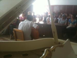 Talin Music School Performance Sept 2012 Armenia
